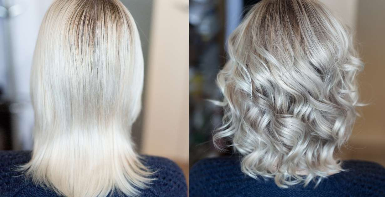 hairdresser before and after